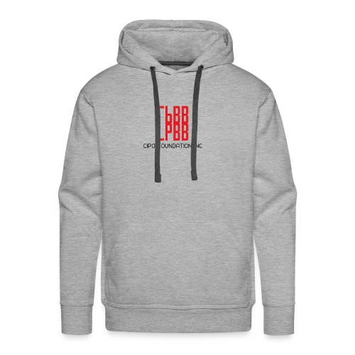 RED LOGO - Men's Premium Hoodie