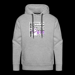 pan cancer aware - Men's Premium Hoodie