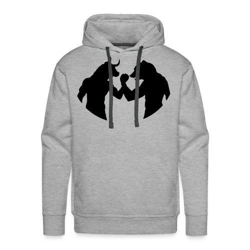 Bulls and bears - Men's Premium Hoodie