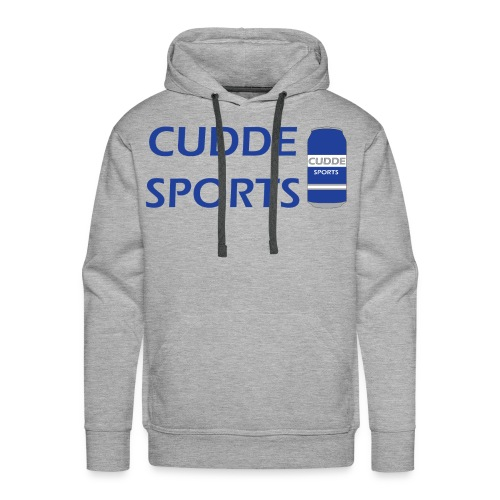 cudde sports t shirt logo - Men's Premium Hoodie