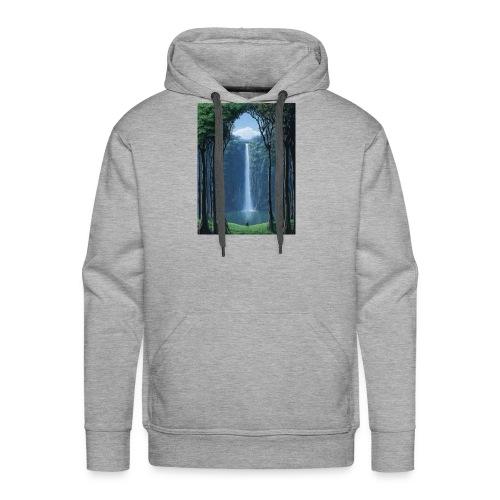 Waterfall lake - Men's Premium Hoodie