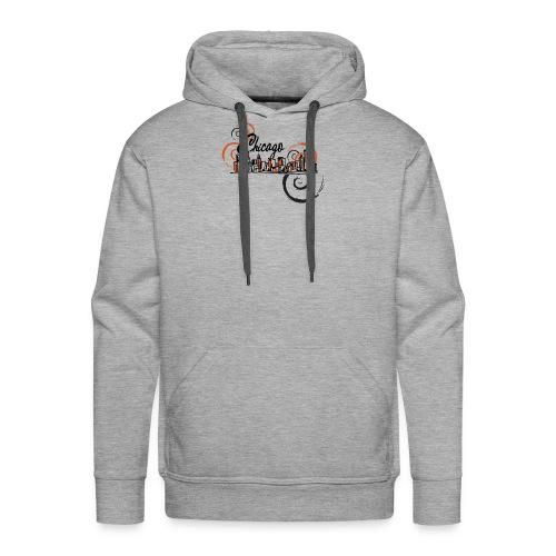 Chicago_Logo - Men's Premium Hoodie