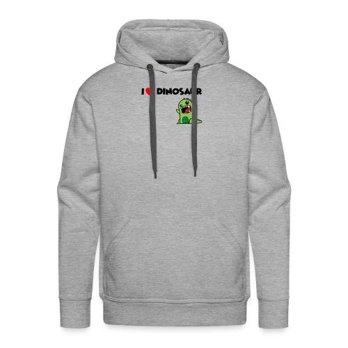 I LOVE DINOSAUR - Men's Premium Hoodie