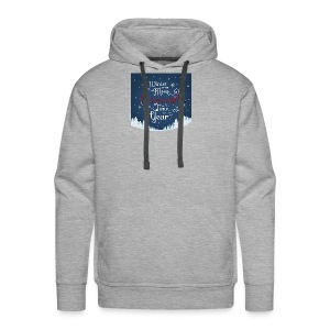 Winter Theme - Men's Premium Hoodie