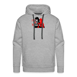 I speak only to Elizabeth : the blacklist tees - Men's Premium Hoodie