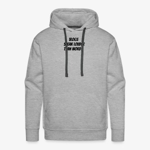 vlog gbz merch - Men's Premium Hoodie