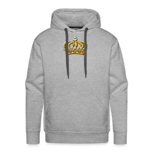 Gold crown - Men's Premium Hoodie