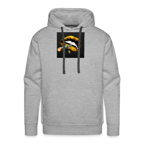 Big Mouth Smoke Money - Men's Premium Hoodie