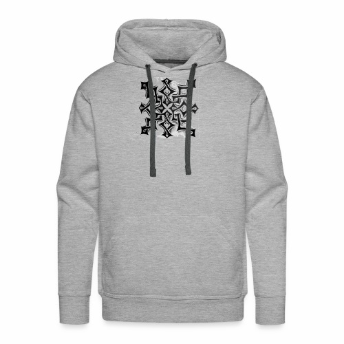 TRIBAL INTERLOCK - Men's Premium Hoodie