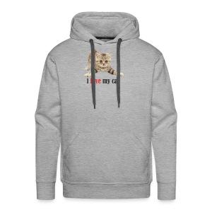 lovecat - Men's Premium Hoodie