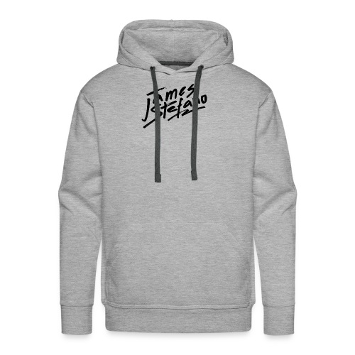 James Stefano 2017 Merchandise Black Logo - Men's Premium Hoodie