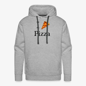 I Heart Pizza - Men's Premium Hoodie