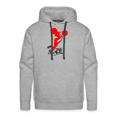 Stay Rad Black - Men's Premium Hoodie