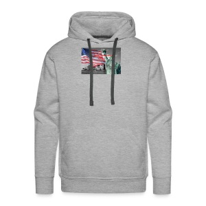 USA Independence Day - Men's Premium Hoodie