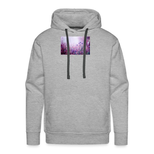 Life's field of flowers - Men's Premium Hoodie