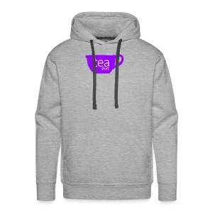 Tea Shirt Simple But Purple - Men's Premium Hoodie