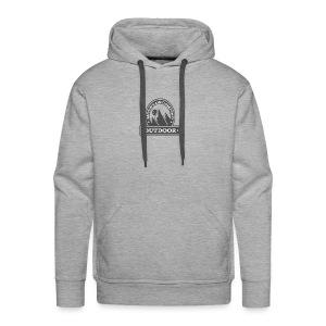 OUTDOOR MOUNTAIN CAMPING Motivational - Men's Premium Hoodie