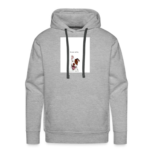 my big dog - Men's Premium Hoodie