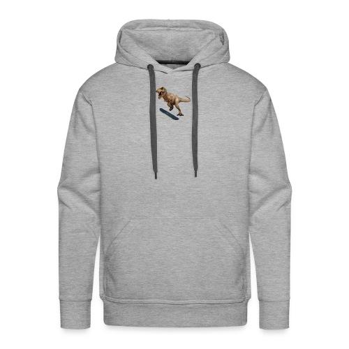 T-Rex Kickflip - Men's Premium Hoodie