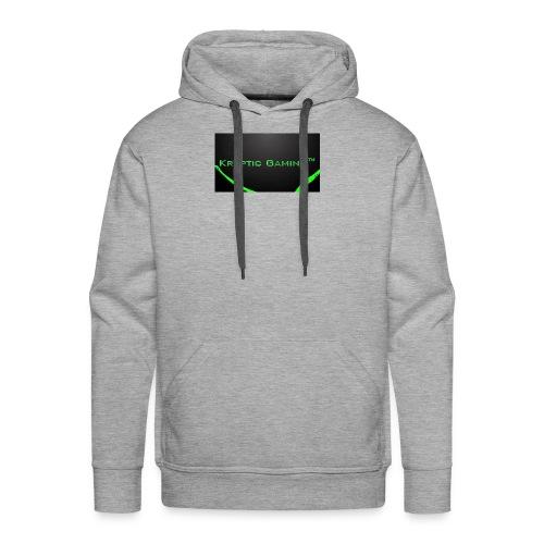 Kryptic Gaming Classic Design - Men's Premium Hoodie