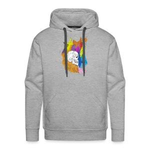 Skull Outburst - Men's Premium Hoodie