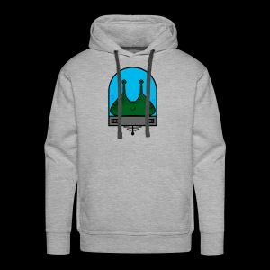 Stay Weird Alien - Men's Premium Hoodie