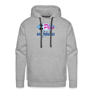 50 plus and fab - Men's Premium Hoodie