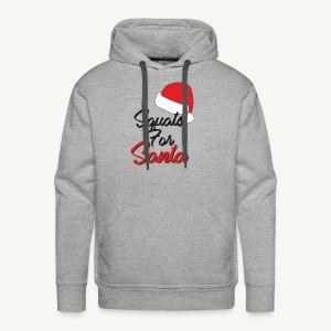 Squats For Santa - Men's Premium Hoodie