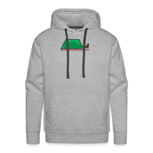 Oversized and Outdoors Logo - Men's Premium Hoodie