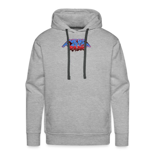Nerd Nation Logo - Men's Premium Hoodie