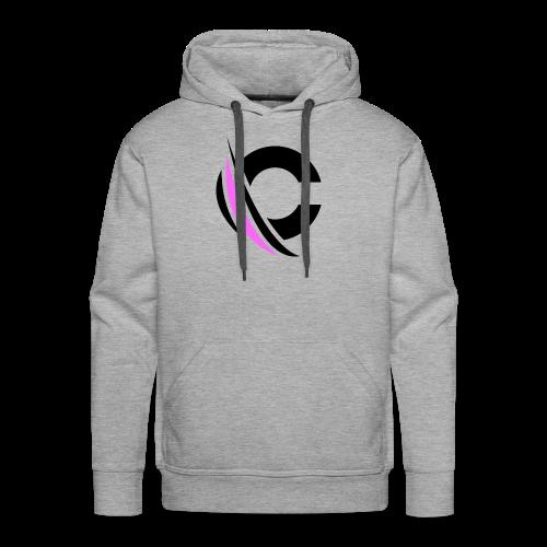 Black/Purple Clarity Apparel - Men's Premium Hoodie