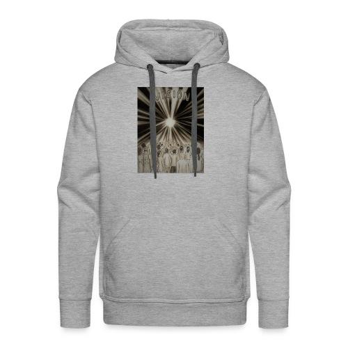 Black_and_White_Vision2 - Men's Premium Hoodie