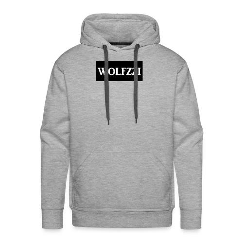 wolfzzishirtlogo - Men's Premium Hoodie