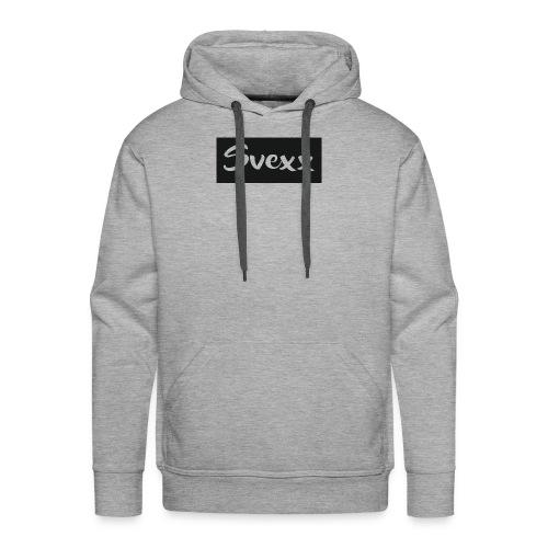 Svexx Logo - Men's Premium Hoodie