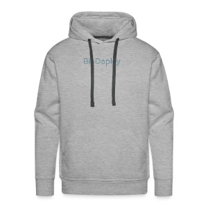 BioDeploy Logo Blue Mix - Men's Premium Hoodie