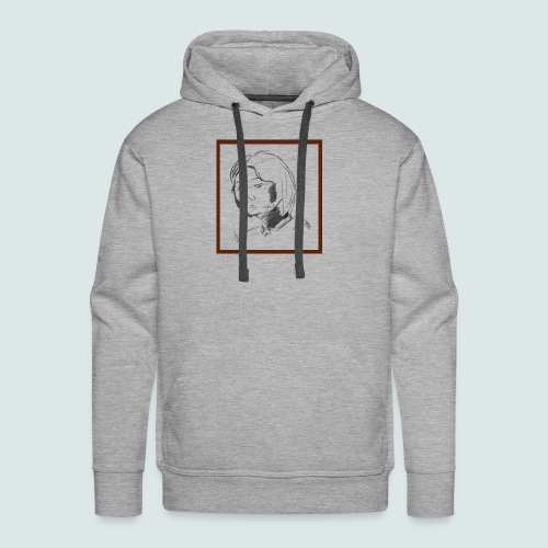 Self-portrait of Hye Rin Woo - Men's Premium Hoodie