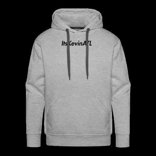 ItsKevinATL Simple Logo - Men's Premium Hoodie
