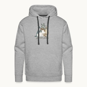 CATS - SENTIENT BEINGS - Carolyn Sandstrom - Men's Premium Hoodie