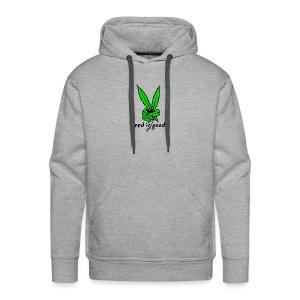 Marijuana Leaf Peace - Men's Premium Hoodie