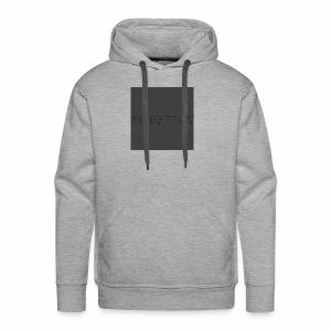 Blackdot grey - Men's Premium Hoodie