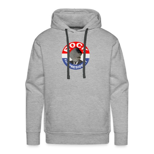 ROCK FOR PRESIDENT - Men's Premium Hoodie