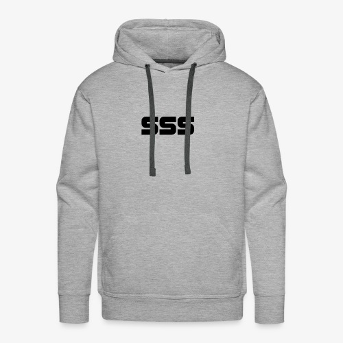 Simple SSS Design - Men's Premium Hoodie