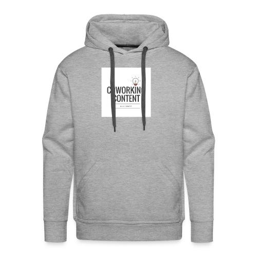 Coworking Content Alliance Tee Shirt - Men's Premium Hoodie