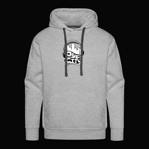 Whiteout Oye City - Men's Premium Hoodie