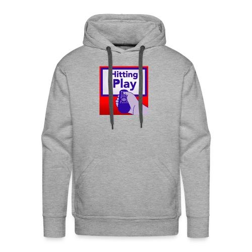 Hitting Play Logo - Men's Premium Hoodie