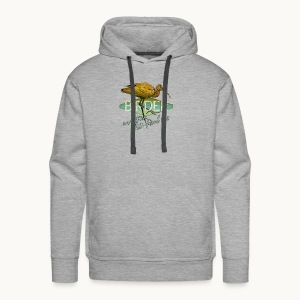 BIRDER - White-faced ibis - Carolyn Sandstrom - Men's Premium Hoodie