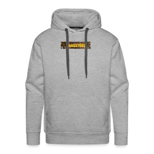 Nick227889 Logo! - Men's Premium Hoodie