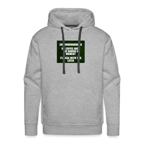 coffee funnY - Men's Premium Hoodie