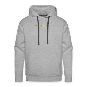 TROLLIEUNICORN gold text limited edition - Men's Premium Hoodie