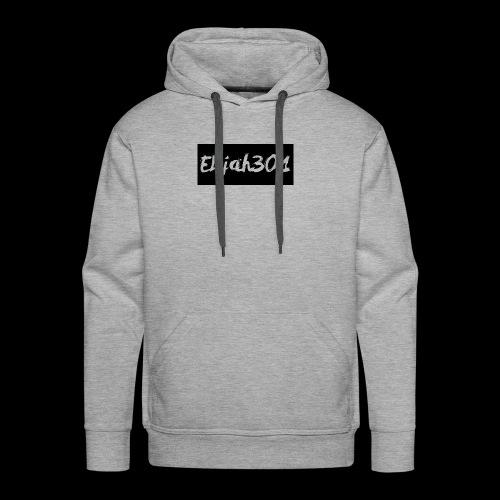 Elijah301BlackLogo - Men's Premium Hoodie